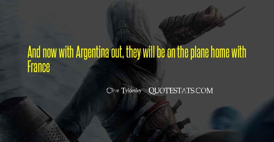 Argentina's Quotes #578462