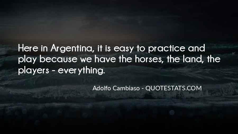 Argentina's Quotes #925211
