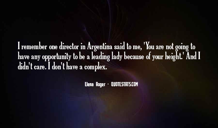 Argentina's Quotes #99785