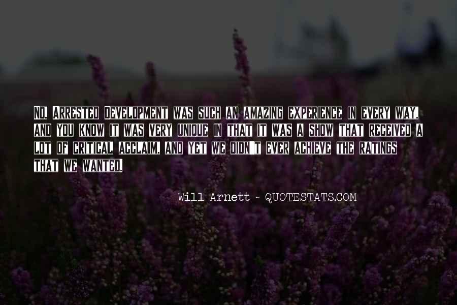 Arnett Quotes #1264050