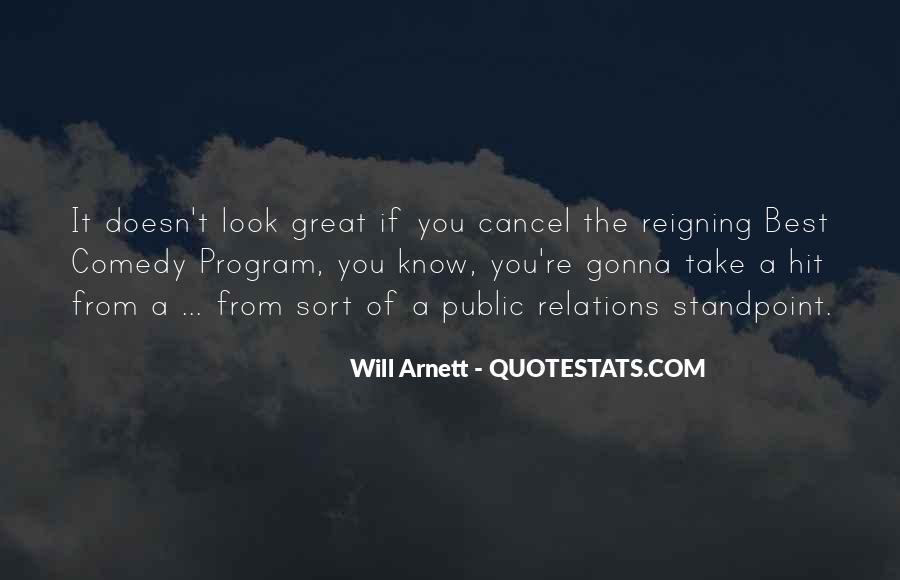 Arnett Quotes #15560