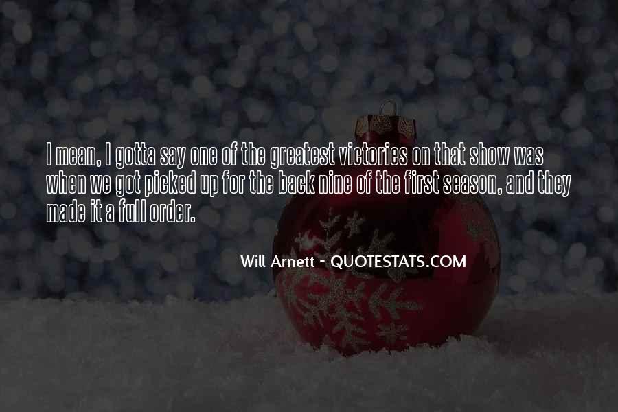 Arnett Quotes #1830710