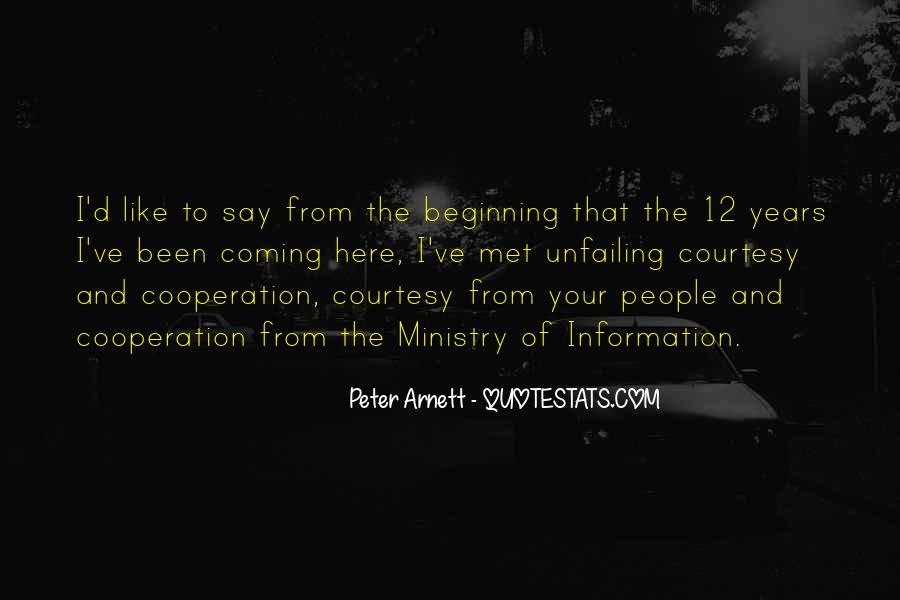 Arnett Quotes #554851
