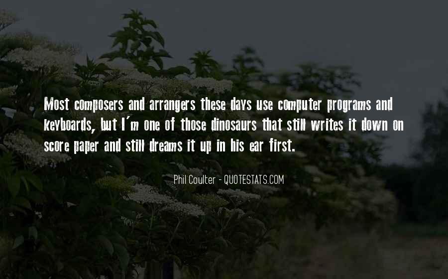 Arrangers Quotes #501329