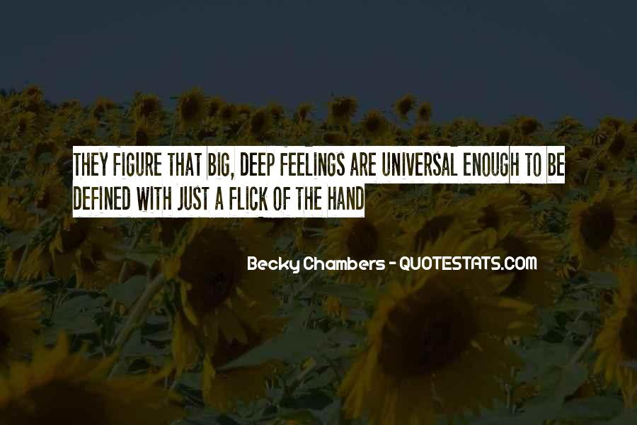 Quotes About Deep Feelings For Someone #84162