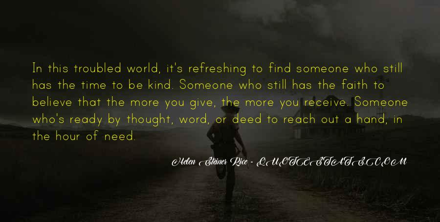 Quotes About A Kind Deed #1630129
