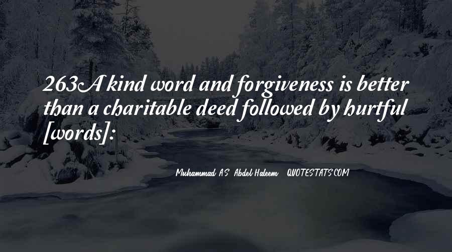 Quotes About A Kind Deed #1845166