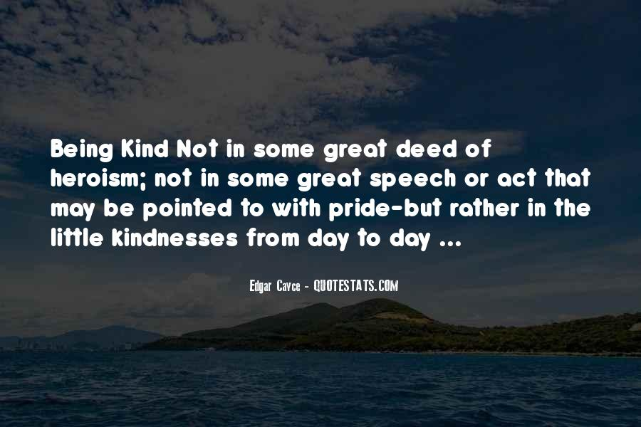 Quotes About A Kind Deed #802066