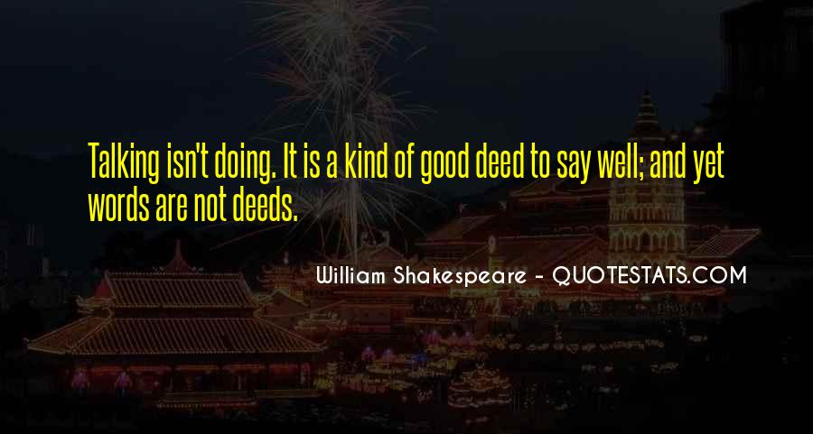 Quotes About A Kind Deed #881291
