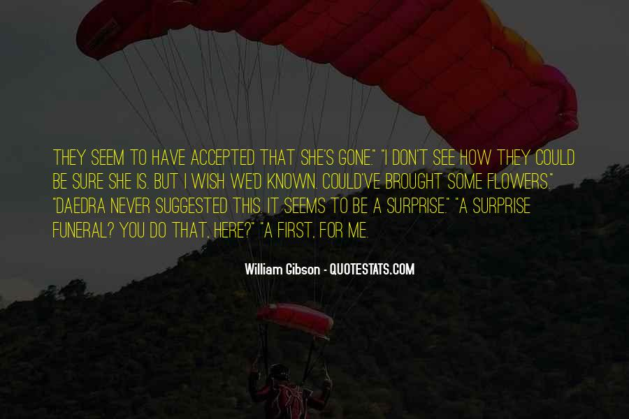 Quotes About Surprise Flowers #950126