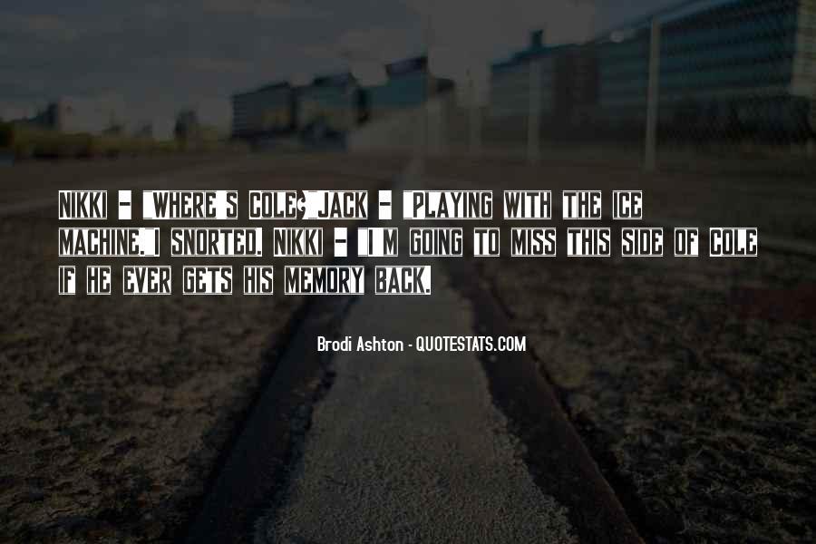 Ashton's Quotes #1027147