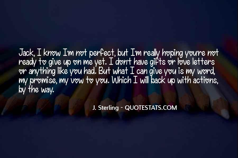 Quotes About Hoping He Will Come Back #14429