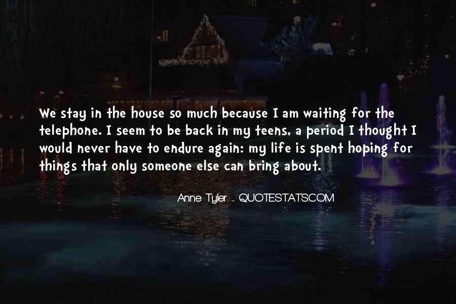 Quotes About Hoping He Will Come Back #324201