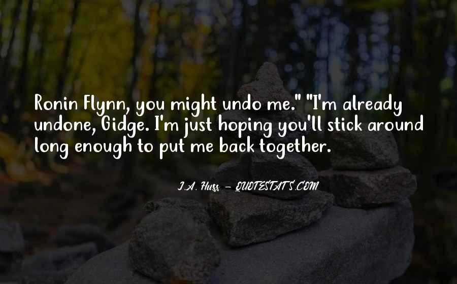 Quotes About Hoping He Will Come Back #528835