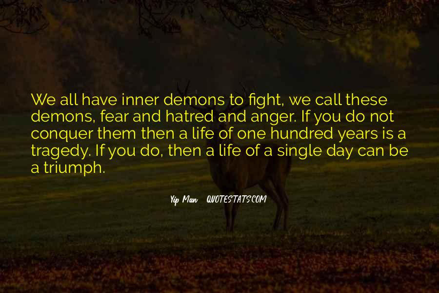 Quotes About Fighting Your Inner Self #1271170