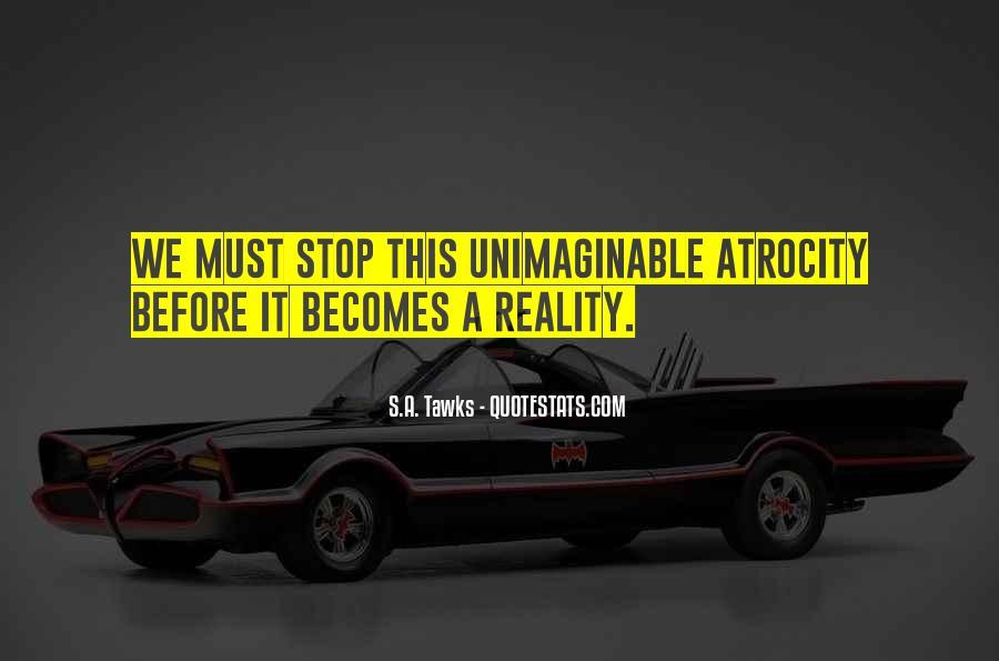 Atrocity's Quotes #1054500