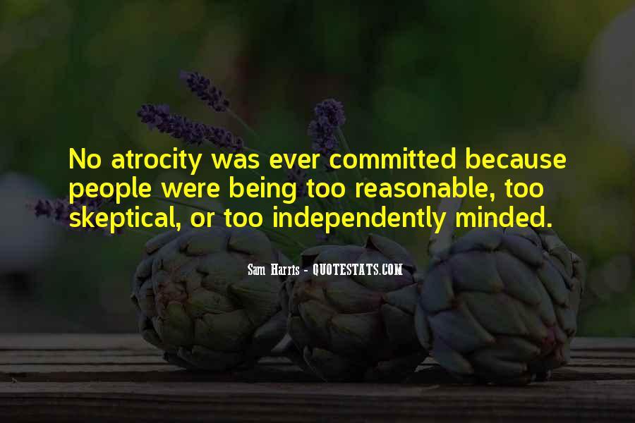 Atrocity's Quotes #1307880