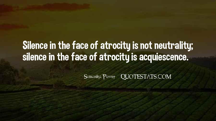 Atrocity's Quotes #148267