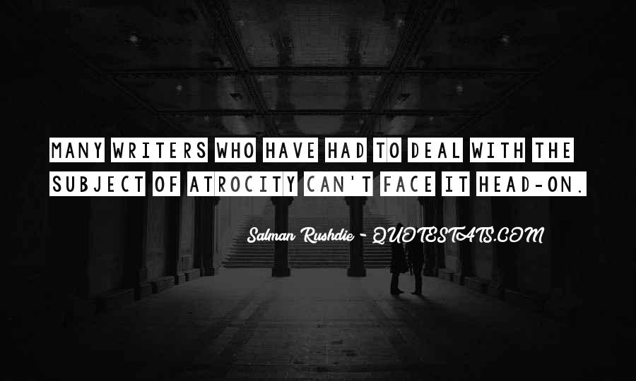 Atrocity's Quotes #1669899