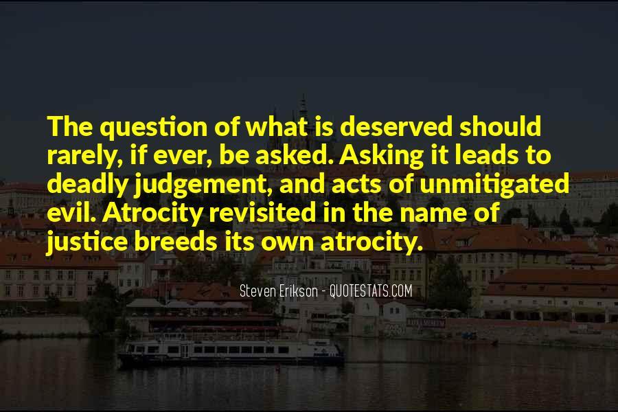 Atrocity's Quotes #1706614