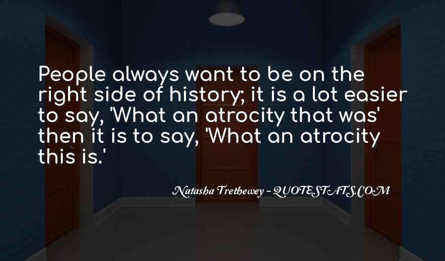 Atrocity's Quotes #20963