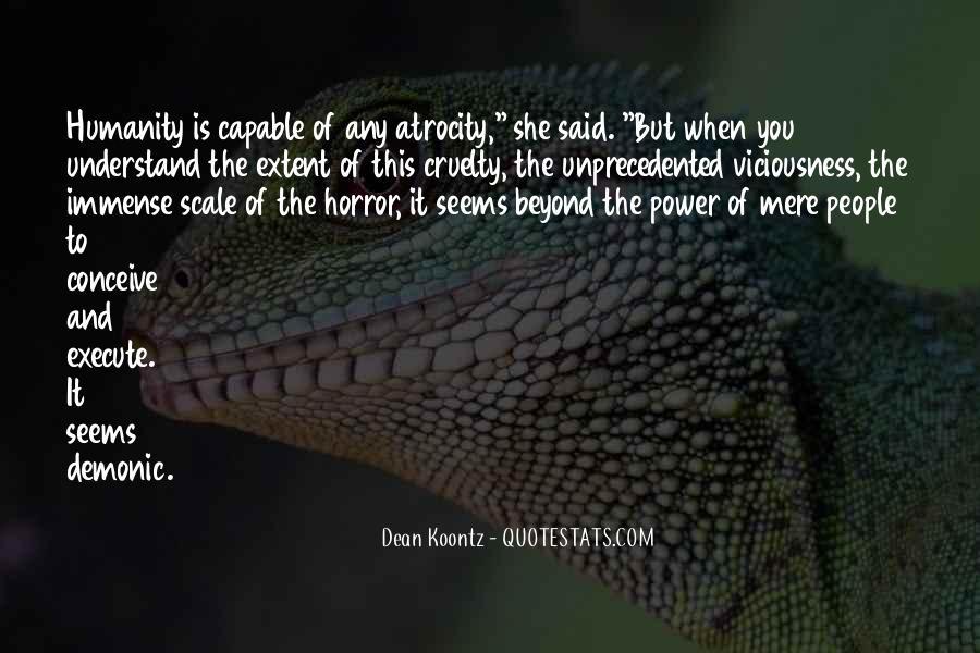 Atrocity's Quotes #612699