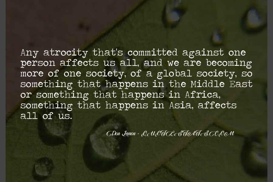 Atrocity's Quotes #976763