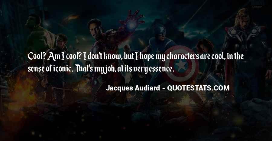 Audiard Quotes #103616