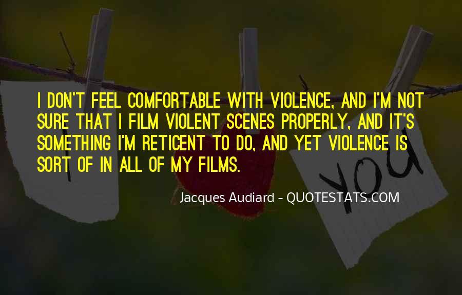 Audiard Quotes #185517