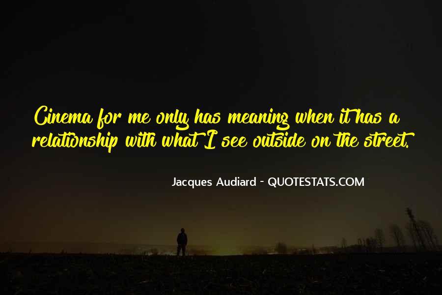Audiard Quotes #2295