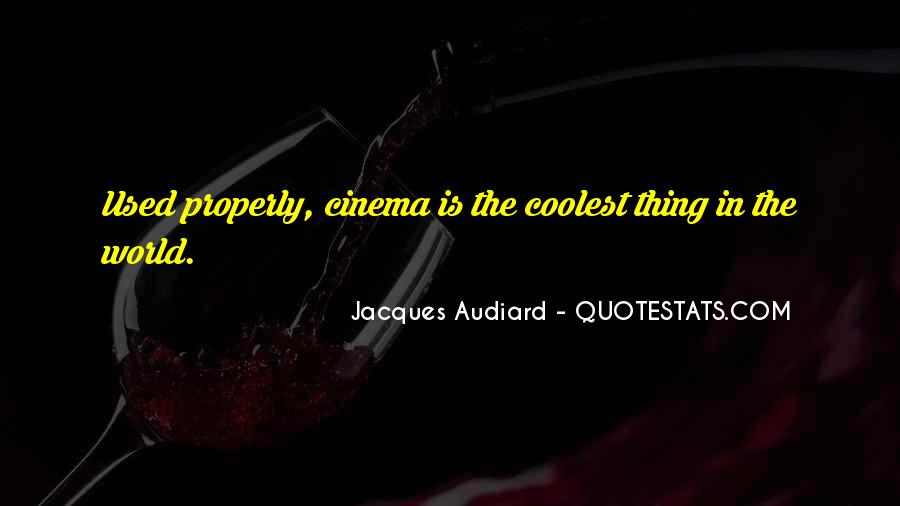Audiard Quotes #265357