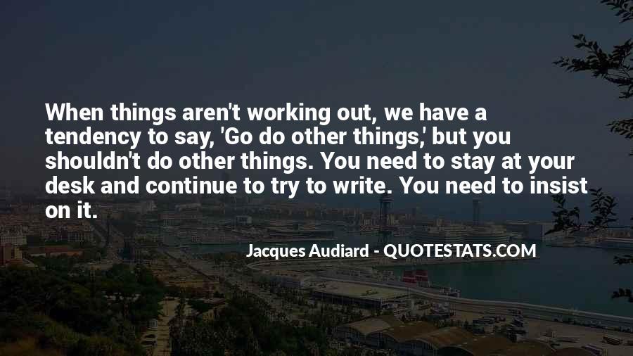 Audiard Quotes #747224
