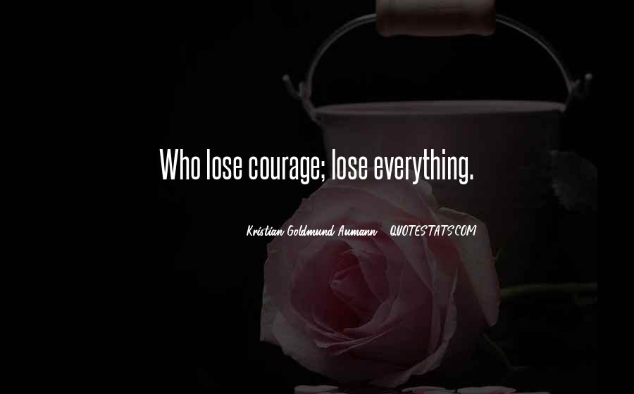 Aumann Quotes #207979
