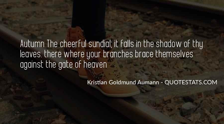Aumann Quotes #214681