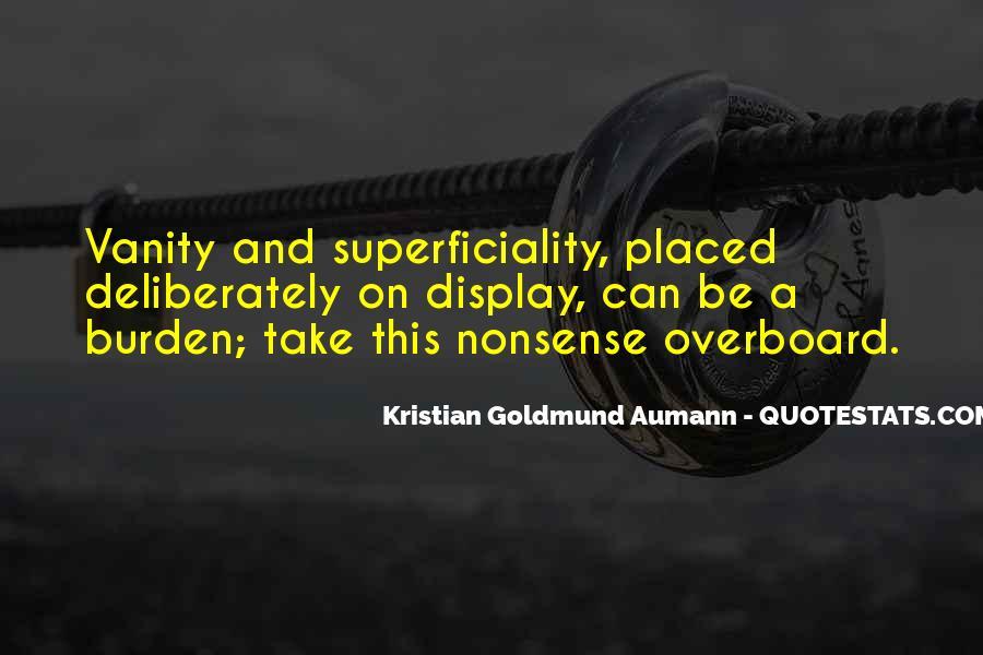 Aumann Quotes #262928