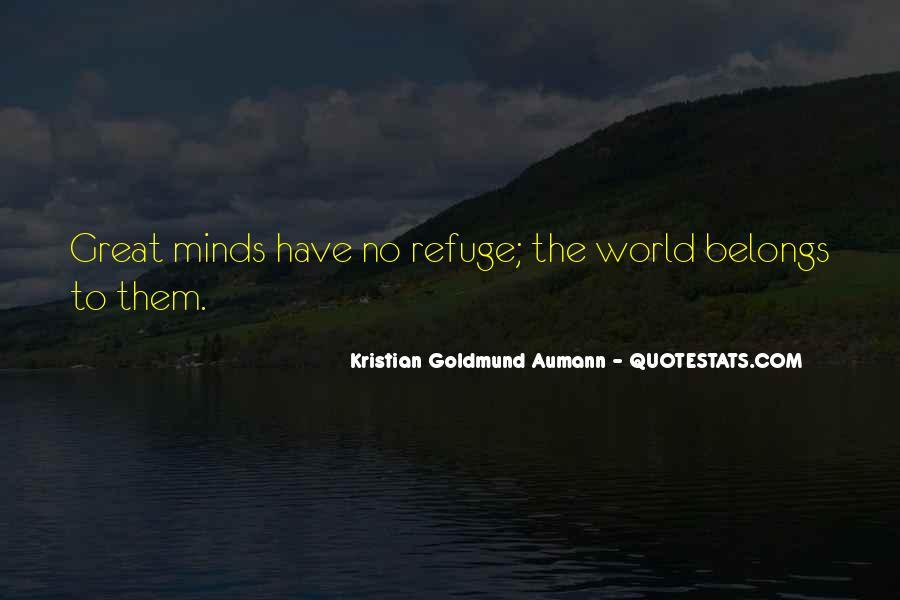 Aumann Quotes #275798