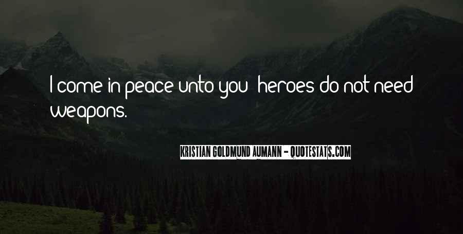 Aumann Quotes #323519