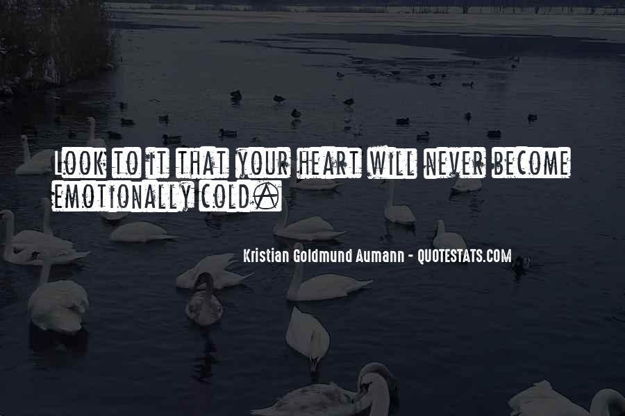 Aumann Quotes #85997