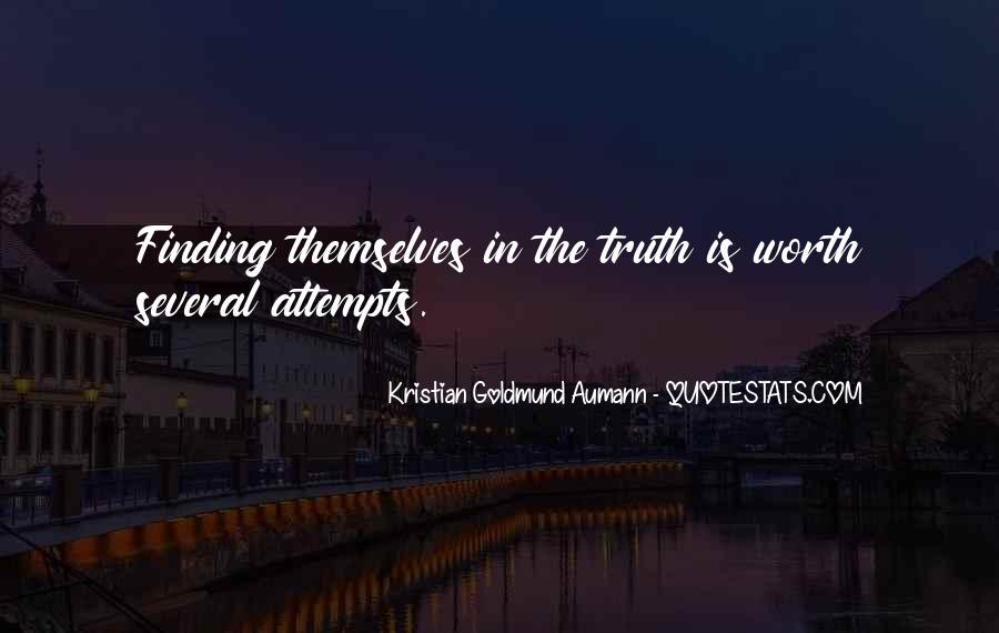 Aumann Quotes #90887