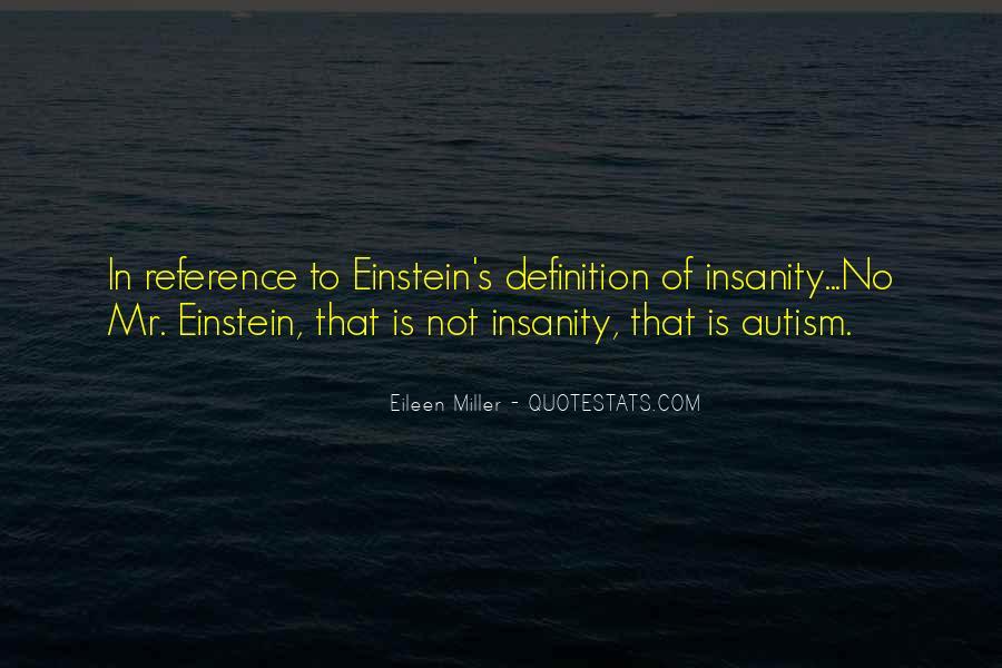 Autism's Quotes #1318682