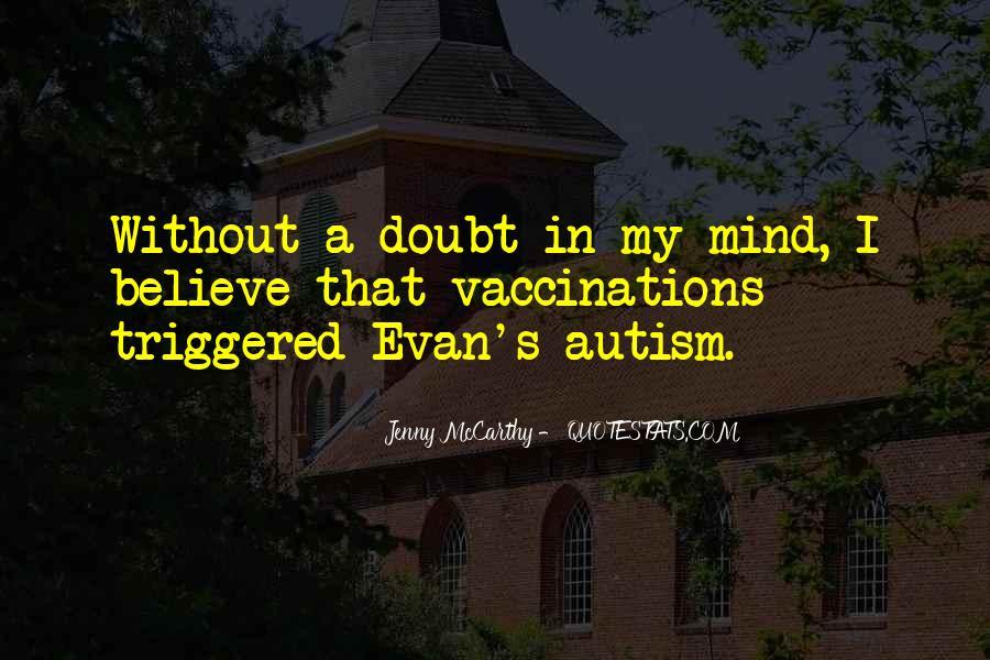 Autism's Quotes #1353398