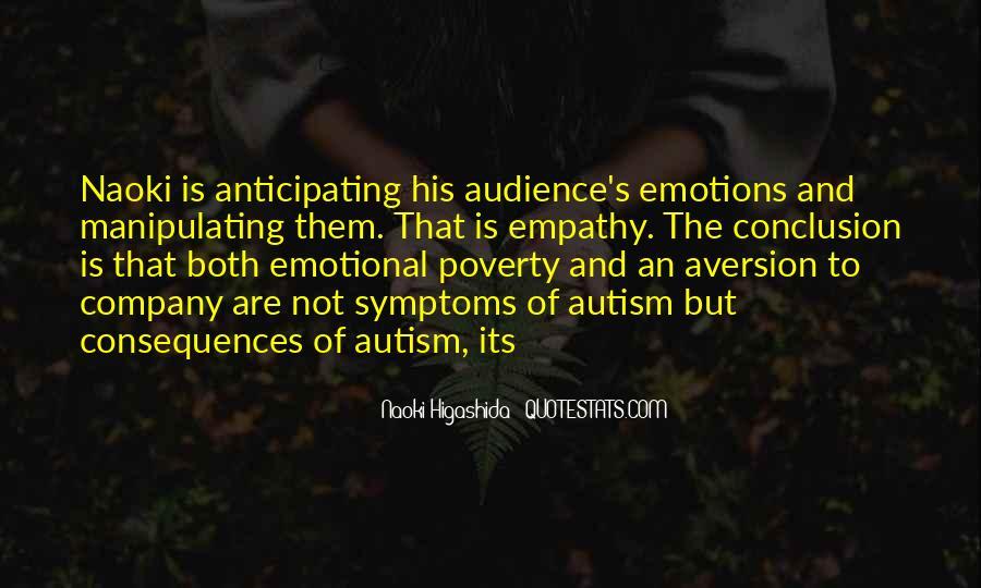 Autism's Quotes #1516450