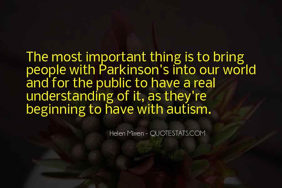 Autism's Quotes #1536144
