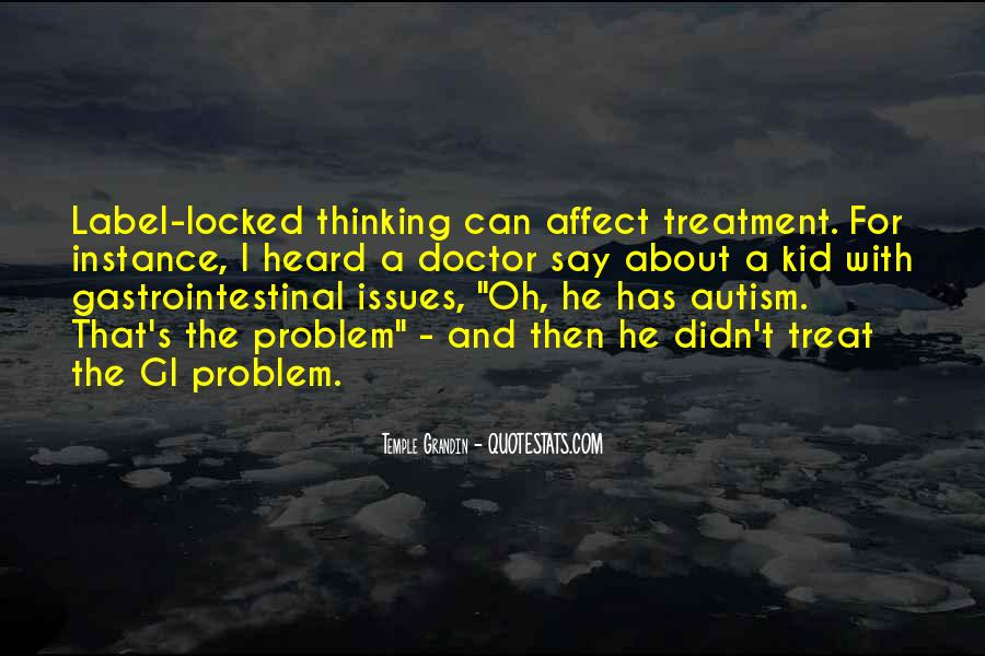 Autism's Quotes #1558774