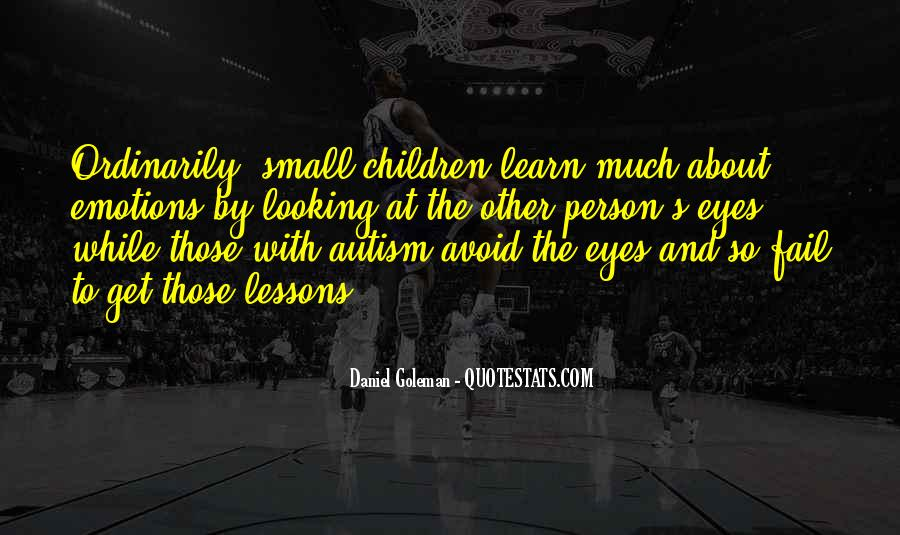 Autism's Quotes #1569018
