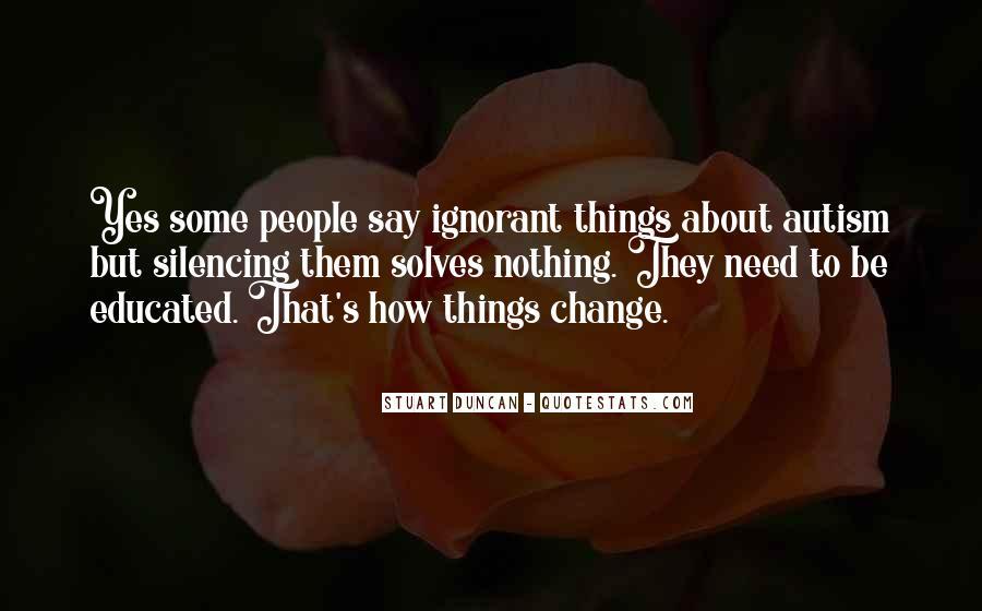 Autism's Quotes #1635579