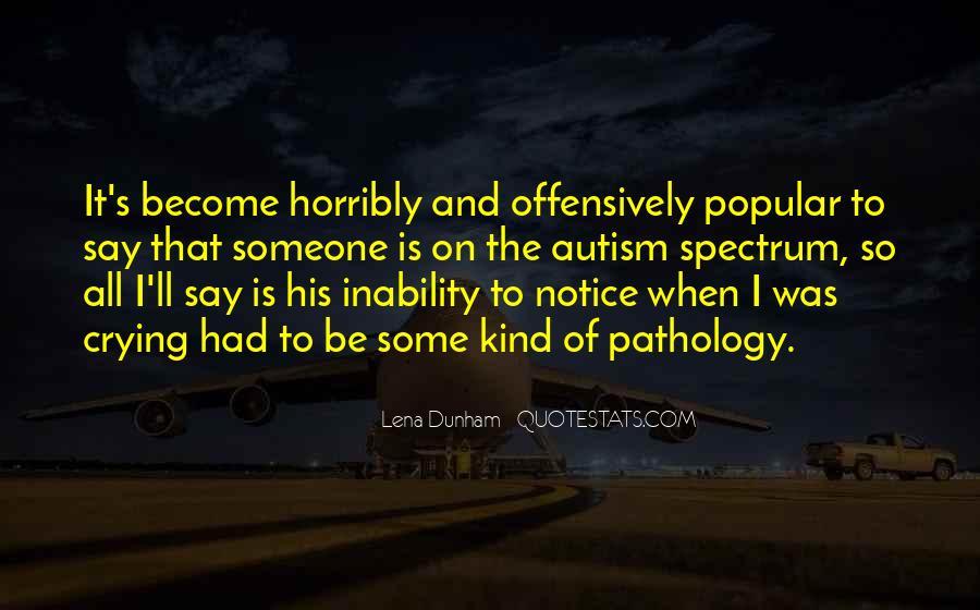 Autism's Quotes #1721786