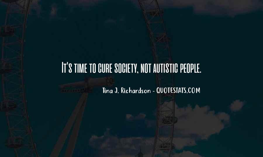 Autism's Quotes #1875267