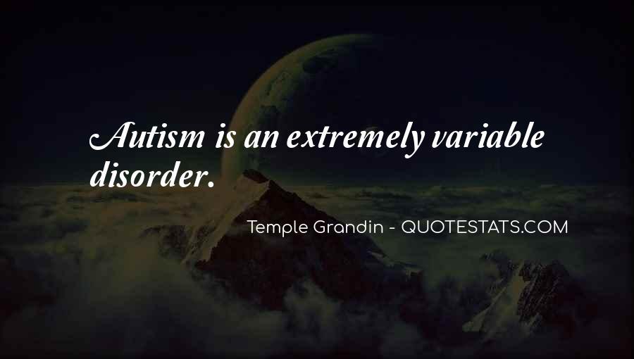 Autism's Quotes #1879