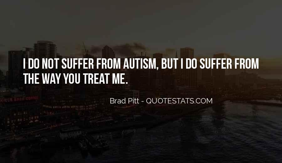 Autism's Quotes #21761